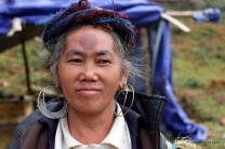 A woman from the Black Hmong minority