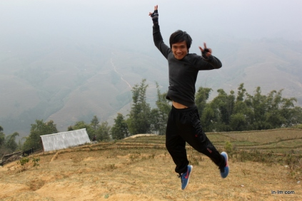 Our guide through Sapa