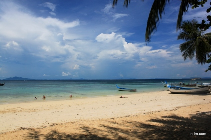Tucked away beaches still stay relatively quiet in low season