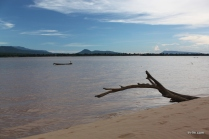 The beach at Pakse