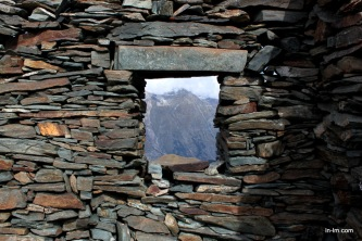 Abandoned mountain houses